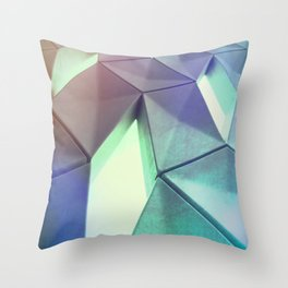 Dark Pastel by Brian Vegas Throw Pillow