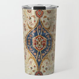 Heriz Silk Northwest Persian Carpet Print Travel Mug