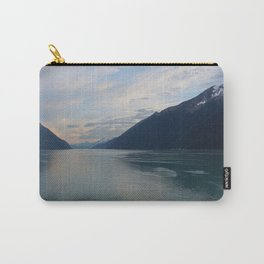 Placid Sunset Lake Carry-All Pouch