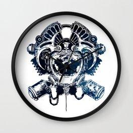 ZAUN Crest - League of Legends Wall Clock