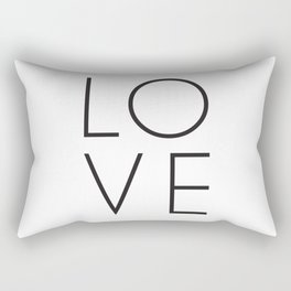 Love is in the air and your home Rectangular Pillow
