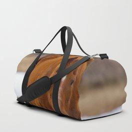 Red - The Auburn Horse Duffle Bag