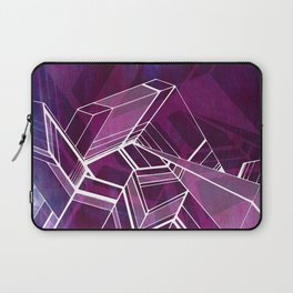 Geo Tactic 2, Violet Laptop Sleeve
