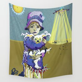 Betiolas 2 (Little Creature) Wall Tapestry