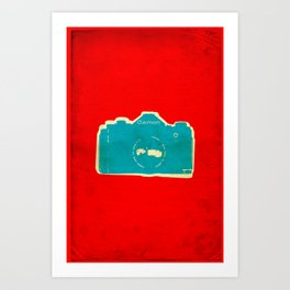 Cam-on Photo Art Print