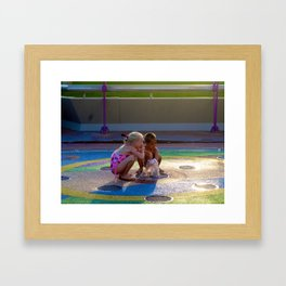 Get Silly | Let Go Framed Art Print