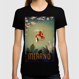 Merano Vintage Travel Poster T-shirt