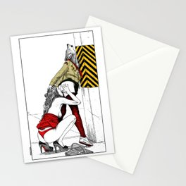 asc 702 - Les nouveaux terrains de chasse (I guess my spirit animal is a wolf) Stationery Cards