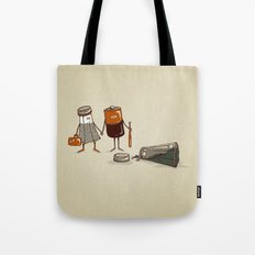 Assault and Battery Love Story. Tote Bag
