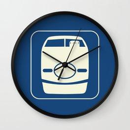 Shinkansen Wall Clock