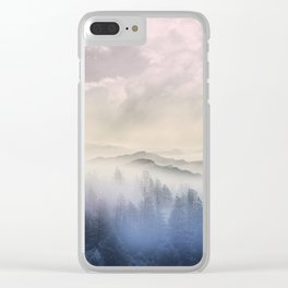Pastel vibes 56 Clear iPhone Case