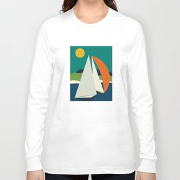 mid century sails Long Sleeve T-shirt
