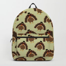Cool Turkey with sunglasses Happy Thanksgiving Backpack