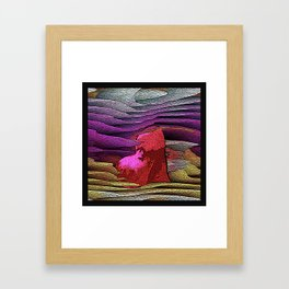 LOVE IS A MANY LAYERED THING Framed Art Print