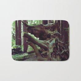 Red Wood Rhino Bath Mat