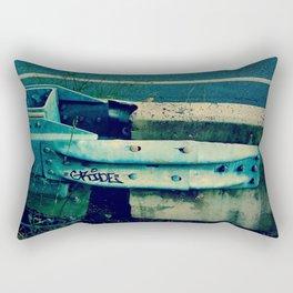 Barrier - Retro Rectangular Pillow