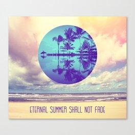 Eternal Summer -Beach- Canvas Print