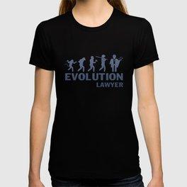 Evolution - Lawyer T-shirt