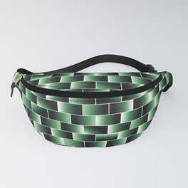 Green set of tiles - movie style Fanny Pack