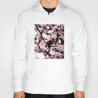 cherry blossom Hoodies featuring Cherry blossom by JoanaRosaC