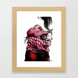 Ojo Framed Art Print