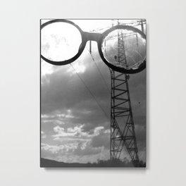 Giants in the Sky Metal Print