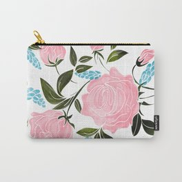 Rosy || Carry-All Pouch