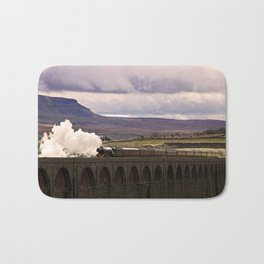 Flying Scotsman at Ribblehead Bath Mat