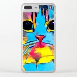Scottish Fold Clear iPhone Case