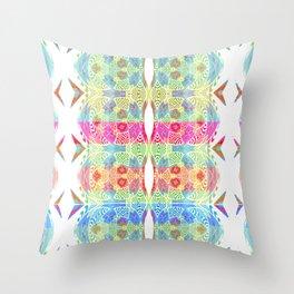 Abstract fun print Throw Pillow
