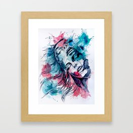 Marijane by carographic, Carolyn Mielke Framed Art Print
