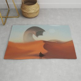 Dune Poster - I Must Not Fear Rug