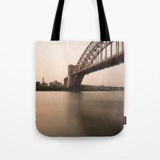 Hell Gate Bridge (NYC) at Sunset Tote Bag