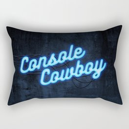Console Cowboy Rectangular Pillow