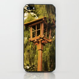 Wooden Lamp iPhone Skin