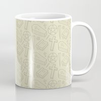 buffy the vampire slayer Mugs featuring Angel - Buffy the Vampire Slayer by Kuki