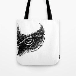 Focused (White) Tote Bag