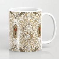 clockwork Mugs featuring Clockwork Valentine by Alex Morgan