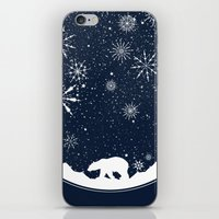 globe iPhone & iPod Skins featuring Snow Globe by Tobe Fonseca