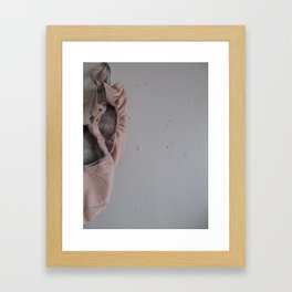 lonely shoes Framed Art Print