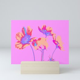 Et rosea Mini Art Print