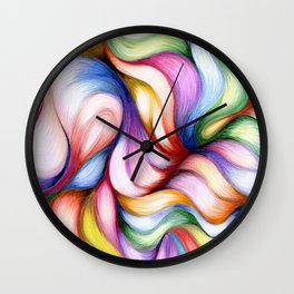 Colour Forming Wall Clock