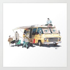 the GISHBUS Art Print