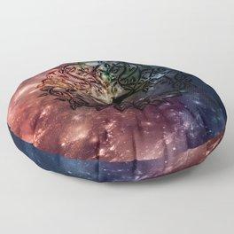 Viking Tree of life Floor Pillow