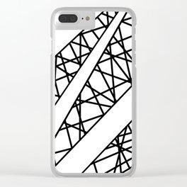 Lazer Dance X Clear iPhone Case