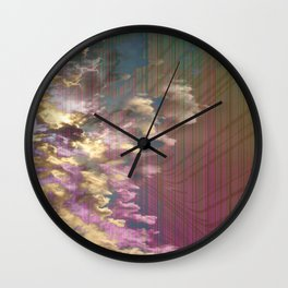 Spatial Factor 303 / Texture 02-11-16 Wall Clock
