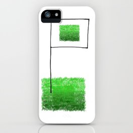 Conquer the fields! iPhone Case