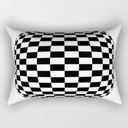 Blender Checkersphere 2 Color Rectangular Pillow