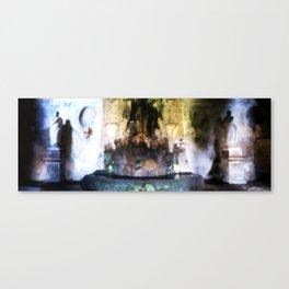 Rome Underground Fountain Canvas Print