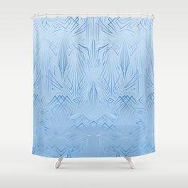 Pinstripe Pattern Creation Shower Curtain